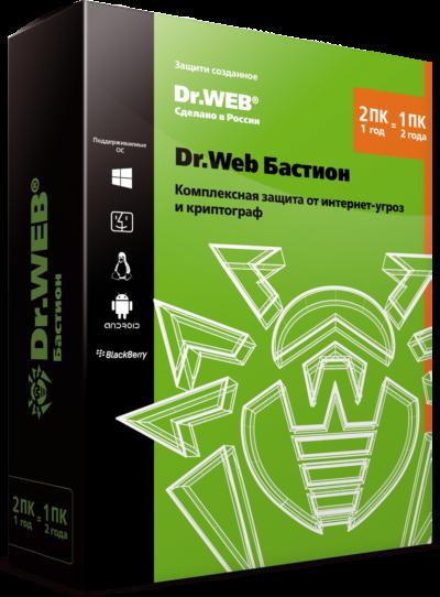 Бастион Dr.Web для Windows